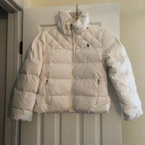 Ralph Lauren Girls Large (12-14) Ivory Jacket